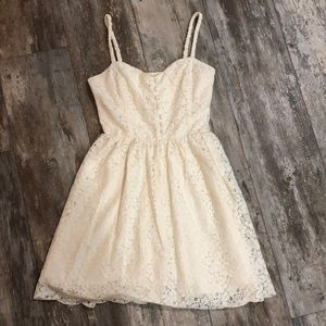 Talula | White lace dress size 6